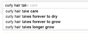 Suggested searches. ;)